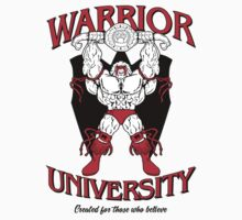 Warrior University Kids Tee