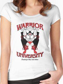 Warrior University Women's Fitted Scoop T-Shirt