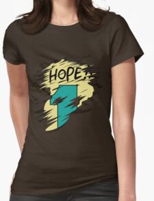 Hope!! Womens Fitted T-Shirt