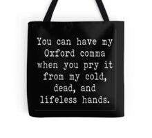 My Oxford Comma Tote Bag