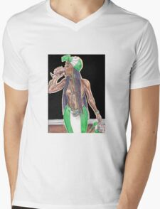 Funke the Nigerian Trap Queen Mens V-Neck T-Shirt