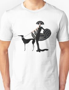 Art Deco era Haute Couture Fashion illustration Unisex T-Shirt