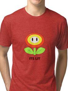 Mario Flower Tri-blend T-Shirt