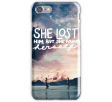 Clean Hidden Message  iPhone Case/Skin
