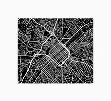 Charlotte Map - Black Unisex T-Shirt