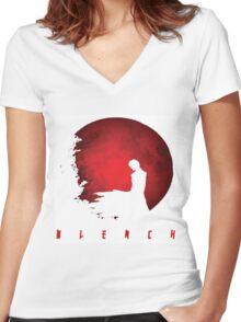bleach Women's Fitted V-Neck T-Shirt
