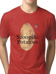 Scoopski Potatoes Tri-blend T-Shirt