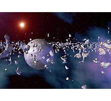 3d Rendered Space Scene Photographic Print