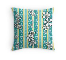 White Sand Beach Breeze Throw Pillow