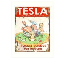 Tesla (Issue 3) Art Print