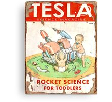 Tesla (Issue 3) Canvas Print