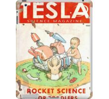 Tesla (Issue 3) iPad Case/Skin