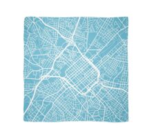 Charlotte Map - Baby Blue Scarf