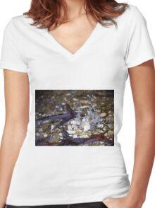 Splash Women's Fitted V-Neck T-Shirt