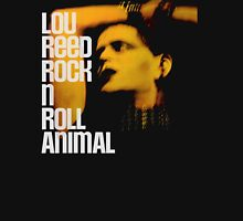 Lou Reed Rock N Roll Animal BIG Womens Fitted T-Shirt