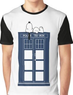 Snoopy / Dr. Who Graphic T-Shirt