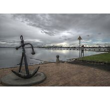 Anchorage in Geelong Photographic Print