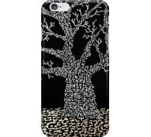 Stand Fast - Mixed Media iPhone Case/Skin