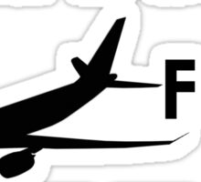 Will Fix Airplanes For BEER Sticker