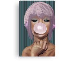 Bubblegum Canvas Print