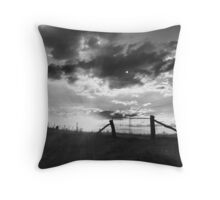 Evening gate Throw Pillow