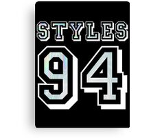 Harry Styles '94 Jersey Canvas Print