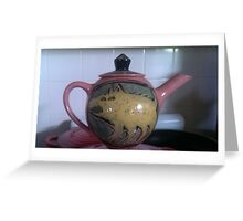 My Gerry Wedd Teapot Greeting Card