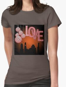 Valentine's day Womens Fitted T-Shirt