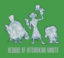Haunted Mansion Beware of Hitchhiking Ghosts Kids Clothes