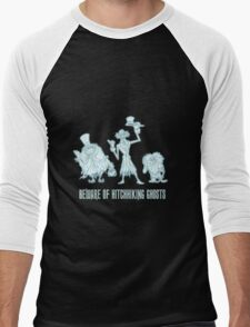 Haunted Mansion Beware of Hitchhiking Ghosts Men's Baseball ¾ T-Shirt