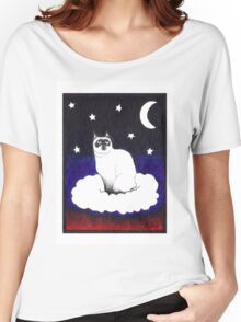 Cosmic Kitty Women's Relaxed Fit T-Shirt