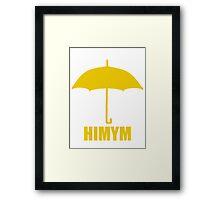 #HIMYM Framed Print