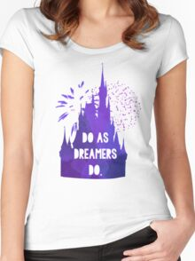 Do as Dreamers Do... Women's Fitted Scoop T-Shirt
