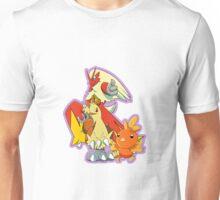 Hoenn Fire Starters Unisex T-Shirt
