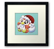 Christmas Delibird Framed Print