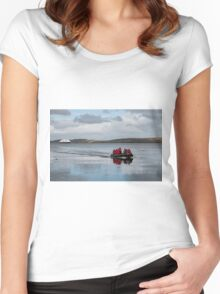Coming to Shore Women's Fitted Scoop T-Shirt
