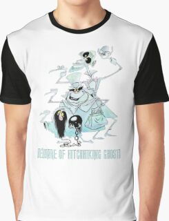 Awesome Art Hitchhiking Hosts from the Haunted Mansion Graphic T-Shirt