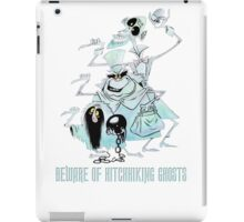 Awesome Art Hitchhiking Hosts from the Haunted Mansion iPad Case/Skin