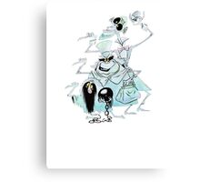 Ezra Phineas and Gus Hitchhiking Ghosts Canvas Print