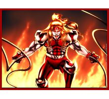 Omega Red Photographic Print