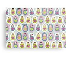 matryoshka doll  with heart Metal Print