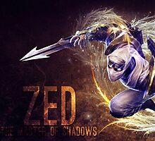 League of Legends: Zed the Master of Shadows by thememeshop