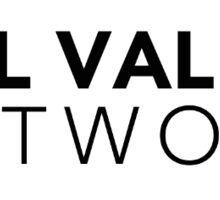 Hill Valley Network Logo Sticker