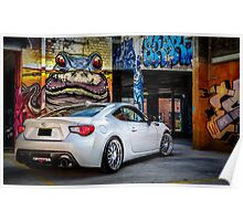 Toyota 86 GTS Parking Poster