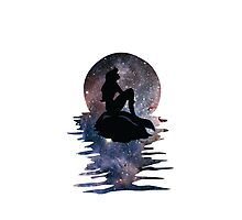 Mermaid - Galaxy Photographic Print