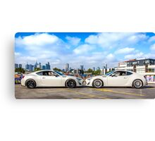 Toyota 86 GTS Mirrored Canvas Print