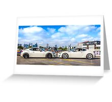 Toyota 86 GTS Mirrored Greeting Card