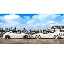 Toyota 86 GTS Mirrored Photographic Print
