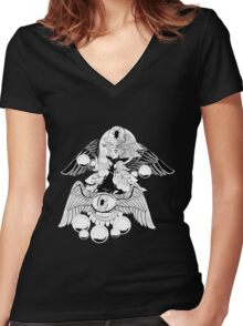 Mercy for Now Women's Fitted V-Neck T-Shirt