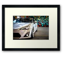 Toyota 86 GTS Parked  Framed Print